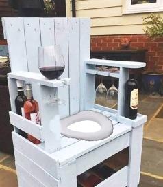 wine toilet seat
